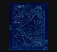 USGS TOPO Map New Jersey NJ New Brunswick 255290 1888 62500 Inverted Unisex T-Shirt