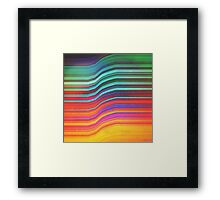 Echoes Of Mine. Framed Print