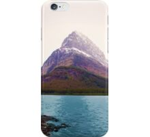 Many Glacier, Montana _ American Cutouts iPhone Case/Skin