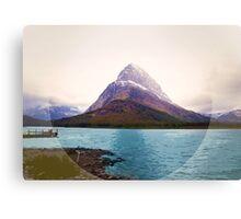 Many Glacier, Montana _ American Cutouts Canvas Print