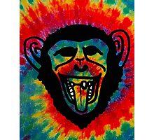 Iron Chimp Tie Dye Photographic Print