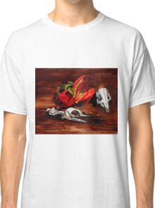 penguin and pomegranate  Classic T-Shirt