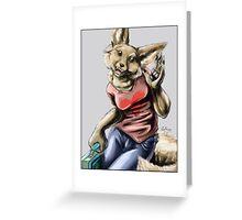 Lunchbox! Fennec Fox Girl  Greeting Card