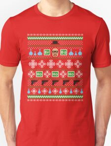 Heisenberg Holiday Sweater + Card Unisex T-Shirt