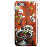 green gage blossoms  iPhone Case/Skin