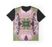Exploding Peach Blossom Graphic T-Shirt