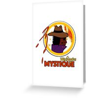 The Washington Mystique Greeting Card