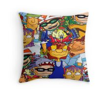 Rocket Power Throw Pillow