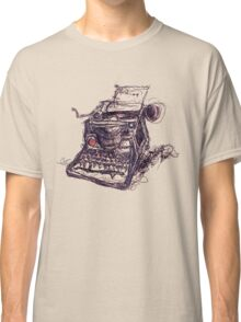 Eat Words Classic T-Shirt