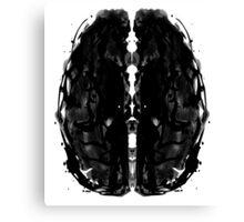 Inkblot Brain Canvas Print