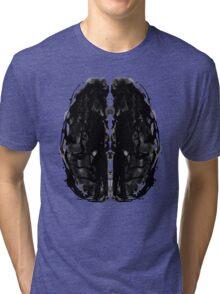 Inkblot Brain Tri-blend T-Shirt