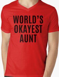 Worlds Okayest Aunt T-Shirt
