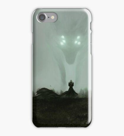 He who hunts alone iPhone Case/Skin