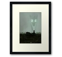 He who hunts alone Framed Print