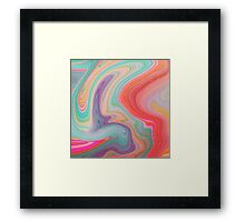 Should Have Taken Acid With You. Framed Print