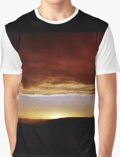 Underneath Stormclouds: Sunset at Fish River Canyon Graphic T-Shirt