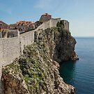 The Cliff-Dubrovnik by Ian Phares