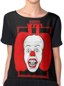 Stephen King It Pennywise the clown Chiffon Top