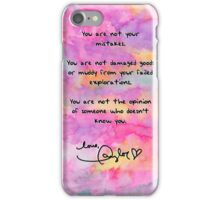 Clean Speech - Taylor Swift iPhone Case/Skin
