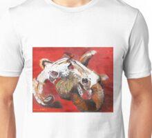 Rams fight over Pumpkin   Unisex T-Shirt