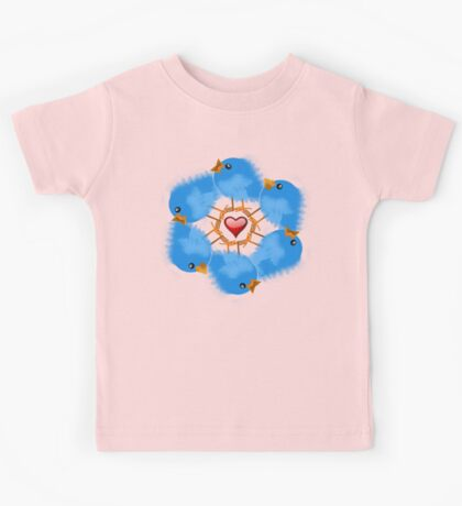 LOVE BIRDS Kids Tee