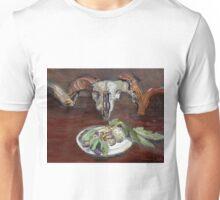 Ram figs on brown Unisex T-Shirt