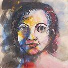 Portrait of  Young Girl by Lyn Fabian