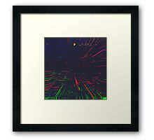 Dressed for Space. Framed Print