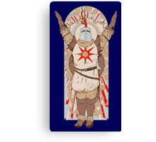 Solaire Game Canvas Print