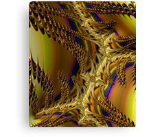 GOLD WING ABSTRACT  Canvas Print