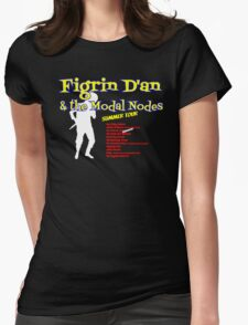 Figrin D'an and the Modal Nodes Womens Fitted T-Shirt