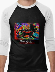 THE SPILT INK. Junglist Men's Baseball ¾ T-Shirt