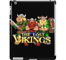 The Lost Vikings (Sega Genesis Title Screen) iPad Case/Skin