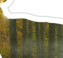 Full Forest Deer Sticker