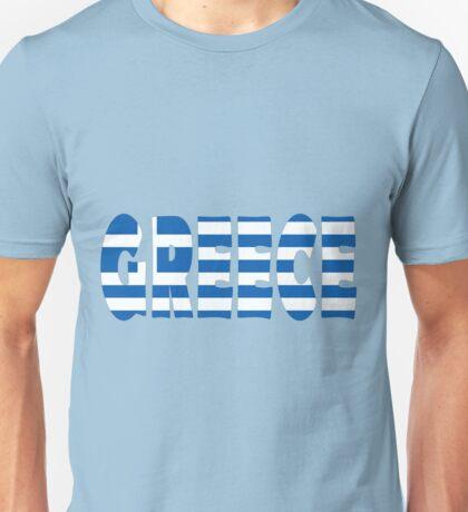 Greece Unisex T-Shirt