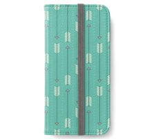 Arrows_Turquoise iPhone Wallet/Case/Skin