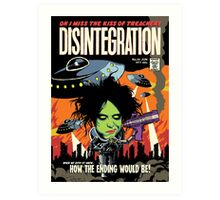 TFTS | Desintegration Art Print