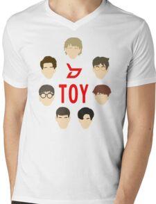 Minimalist Kpop - Block B - Toy Mens V-Neck T-Shirt