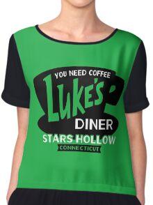 Luke's Diner Chiffon Top
