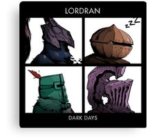 Lordran Dark Days Canvas Print