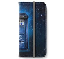 Space And Time traveller Wolf iPhone Wallet/Case/Skin
