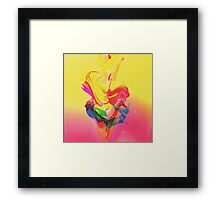 Tension. Framed Print