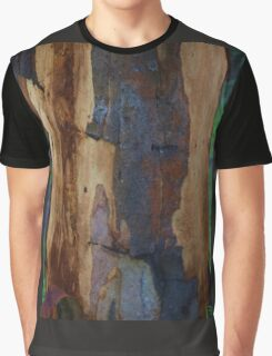 Abstract in Summer Gum Tree Bark  Graphic T-Shirt