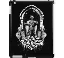 Escaping from the crypt, the King of Dead returns to earth!  iPad Case/Skin