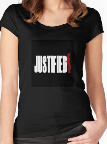 Justified Women's Fitted Scoop T-Shirt
