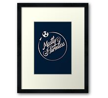 Earth: Mostly Harmless Framed Print