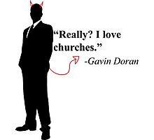 """Really? I love churches."" -Gavin Doran Photographic Print"