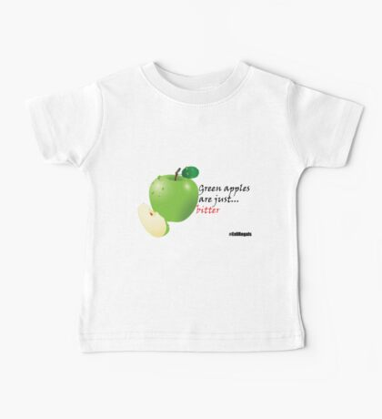 Green apples are just... bitter Baby Tee