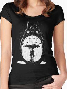 A Noir Neighbour Women's Fitted Scoop T-Shirt