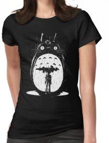 A Noir Neighbour Womens Fitted T-Shirt